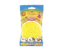 Hama midi perler i neon gul / farvenr: 207-34