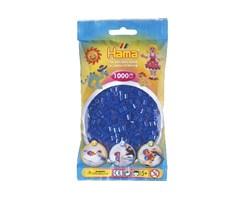 Hama midi perler i neon blå / farvenr: 207-36