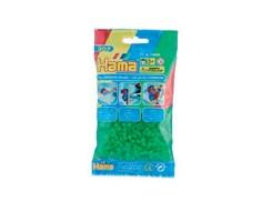 Hama midi perler i neon grøn / farvenr: 207-37