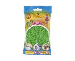 Hama midi perler flou.Grøn / farvenr: 207-42