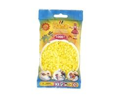 Hama midi perler i pastel gul / farvenr: 207-43