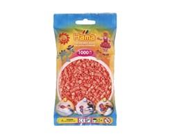 Hama midi perler i pastel rød / farvenr: 207-44