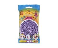 Hama midi perler i pastel lilla / farvenr: 207-45