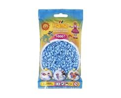 Hama midi perler i pastel blå / farvenr: 207-46