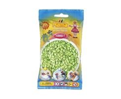 Hama midi perler i pastel grøn / farvenr: 207-47