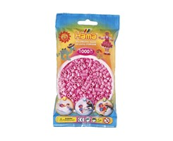 Hama midi perler i pastel pink / farvenr: 207-48