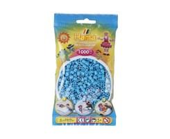 Hama midi perler i azur blå / farvenr: 207-49