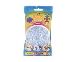 Hama midi perler i selvlysende blå / farvenr: 207-57