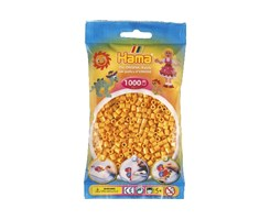 Hama midi perler i bamse gul / farvenr: 207-60