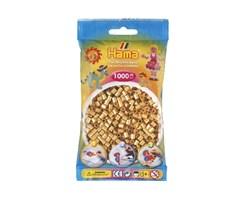 Hama midi perler i guld / farvenr: 207-61