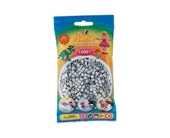 Hama midi perler i lys grå / farvenr: 207-70