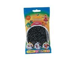Hama midi perler i mørke grå / farvenr: 207-71