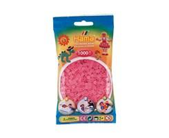 Hama midi perler i trans. pink / farvenr: 207-72