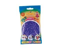 Hama midi perler i trans.lilla / farvenr: 207-74