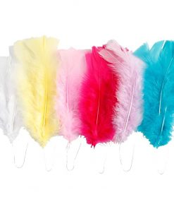Dun / L: 11-17 cm, ass. farver, forårsfarver, 18 bdt