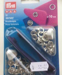 Trykknapper med værktøj / str: 10 mm / Prym