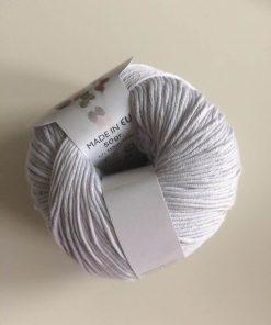 Bomuldsgarn Natura i farven Grey