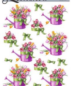Blomster / 3D ark tulipaner i vandkande / Quickies