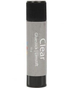 Clear limstift, 10 g, rund, 1 stk.