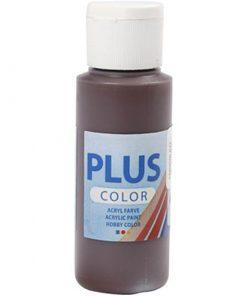 Plus color hobbymaling, chokolade / 60 ml