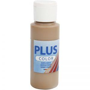 Plus color hobbymaling, light brown / 60 ml