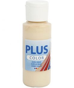 Plus color hobbymaling, Ivory beige / 60 ml