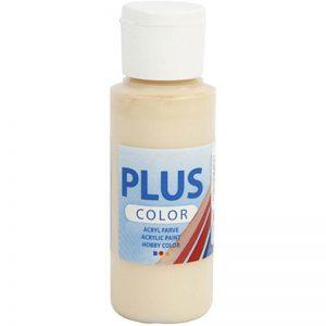 Plus color hobbymaling, Ivory beige / 60 ml