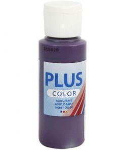 Plus color hobbymaling, aubergine / 60 ml
