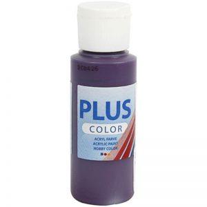 Plus color hobbymaling, aubergine / 60 ml