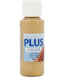 Plus color hobbymaling, gold / 60 ml