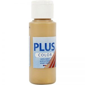 Plus color hobbymaling, gold / 60 ml