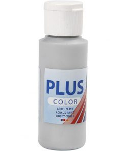 Plus color hobbymaling, silver / 60 ml