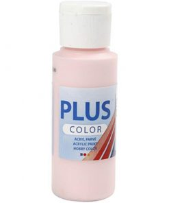 Plus color hobbymaling, soft pink / 60 ml