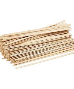 Ispinde, lange, tynde, L: 19 cm, B: 6 mm i birk, 200 stk