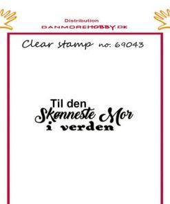 Stempel / Til den sødeste mor / Felicita Design