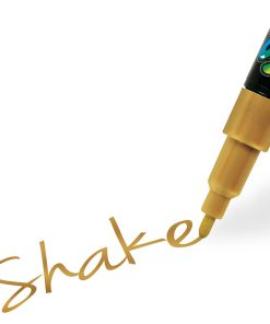 Shake tusch fine, gold 2,5 mm