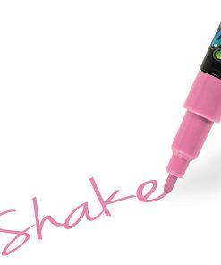 Shake tusch fine, Lyserød 2,5 mm