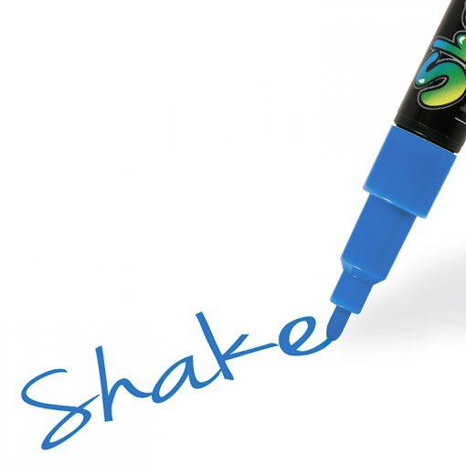 Shake tusch fine, Blå 2,5 mm