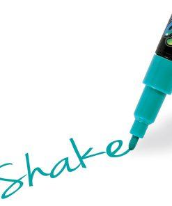 Shake tusch fine, Turkis 2,5 mm