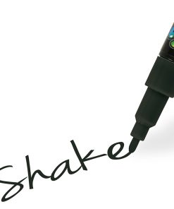 Shake tusch fine, Sort 2,5 mm