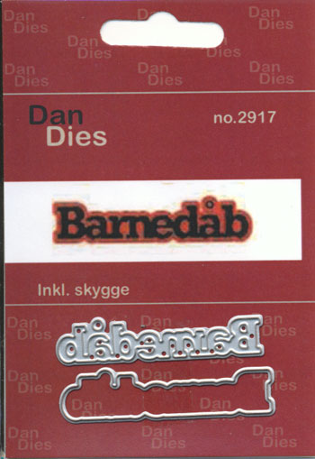 Dies, Dan Dies med teksten Barnedåb / Mellem str.