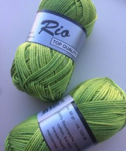 Rio-multi farvet bomuld 100% bomuld / Grøn