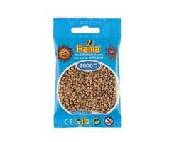 Hama mini-perler i farven tan / 501-75