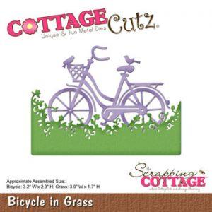Dies Cottage Cutz CC-135 / Cykel i græs