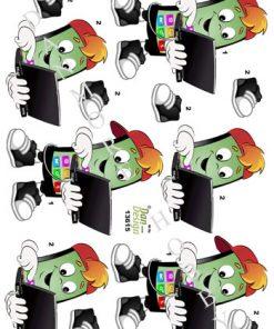 Blandet / 3D ark med mobil overførsel / Dan-Design