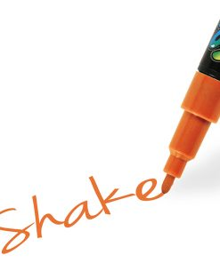 Shake tusch fine, orange 2,5 mm