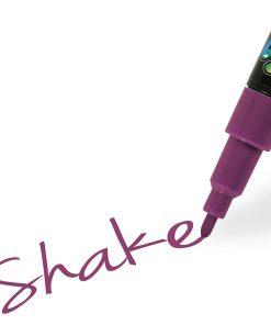 Shake tusch fine, lilla 2,5 mm