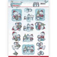 Jul / 3D ark pingvin og isbjørn / Yvonne Creations