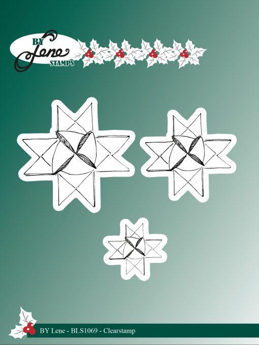Stempel / Jule stjerner / By Lene Stamps