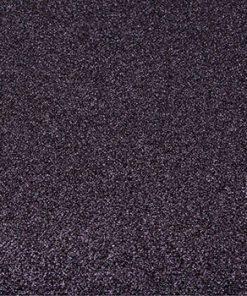 Karton / Selvklæbende glitter karton i sort